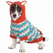 Zack and Zoey Chevron Fox Hoodie
