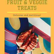 Easy Frozen Fruit Veggie Dog Treats